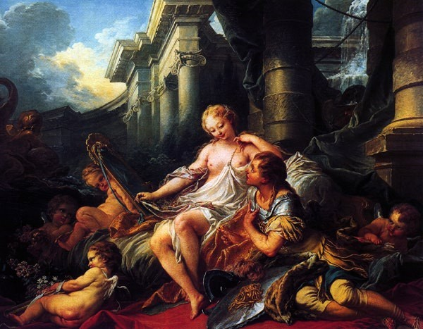 Rinaldo And Armida by François Boucher
