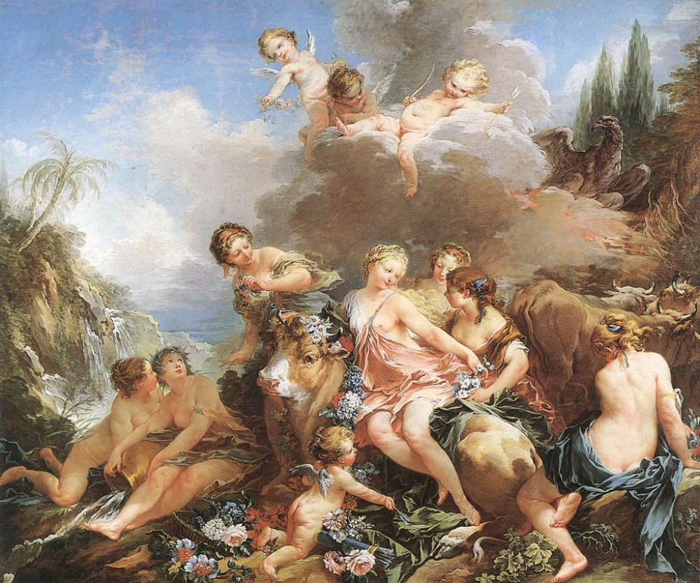 The Rape Of Europa by François Boucher