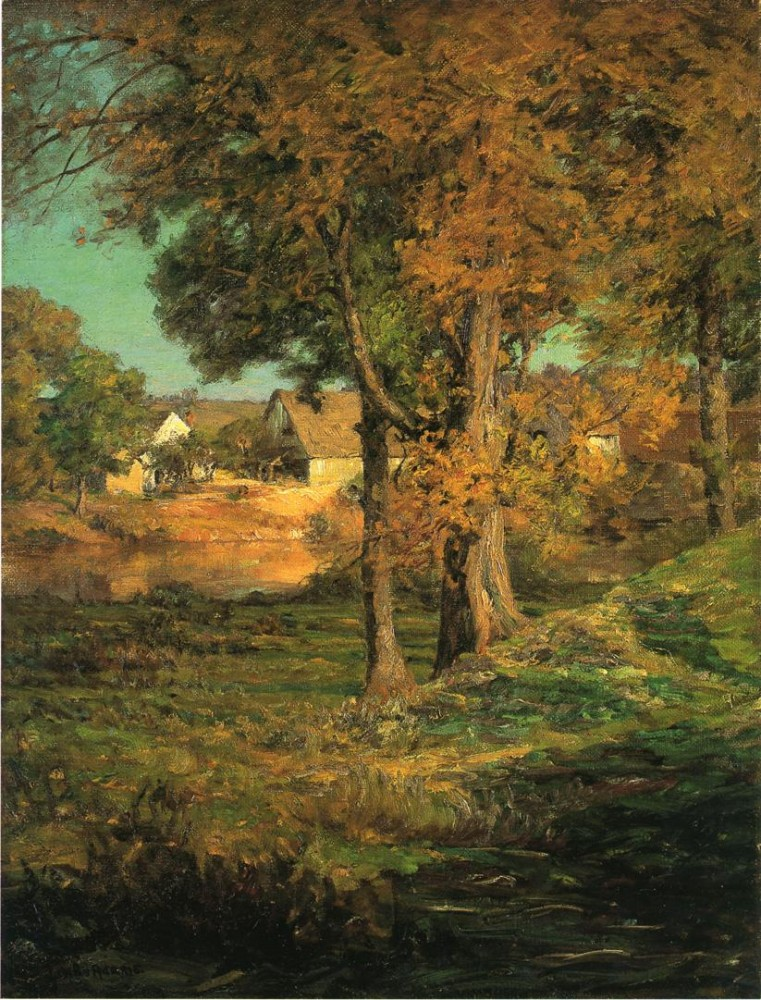 Thornberry-s Pasture Brooklyn Indiana by J. Ottis Adams
