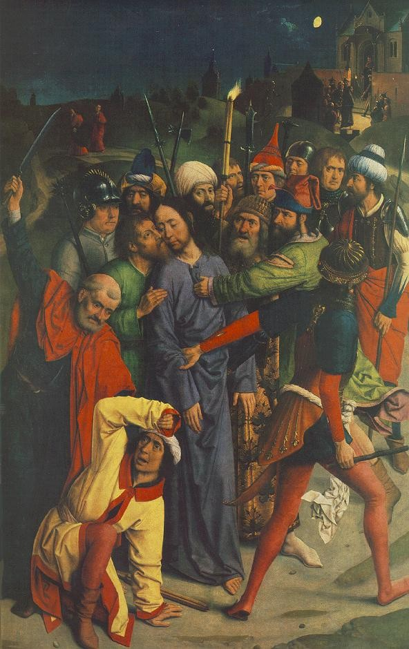 The Capture Of Christ by Dieric Bouts