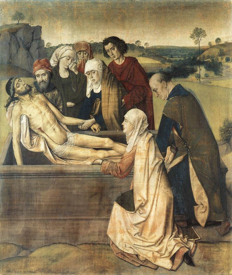 The Entombment by Dieric Bouts