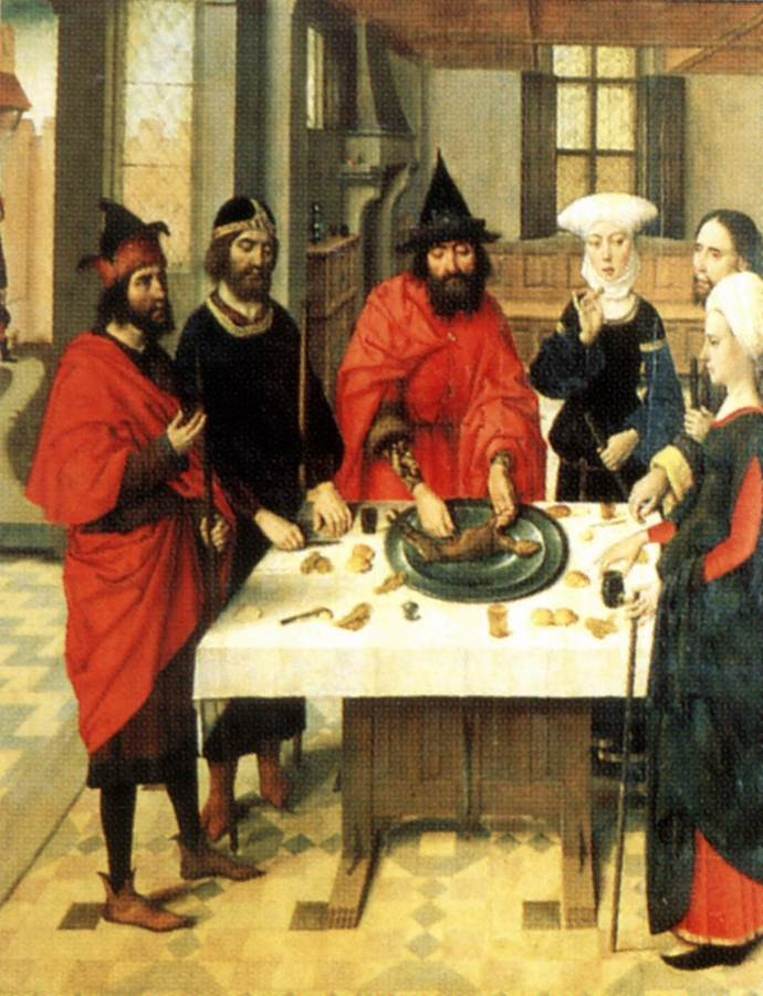 The Feast Of The Passover by Dieric Bouts