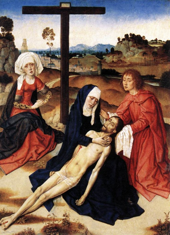 The Lamentation Of Christ by Dieric Bouts