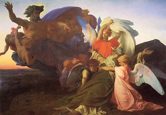 The Death Of Moses by Alexandre Cabanel