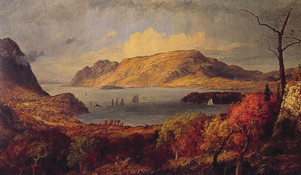 Gates of the Hudson by Jasper Francis Cropsey