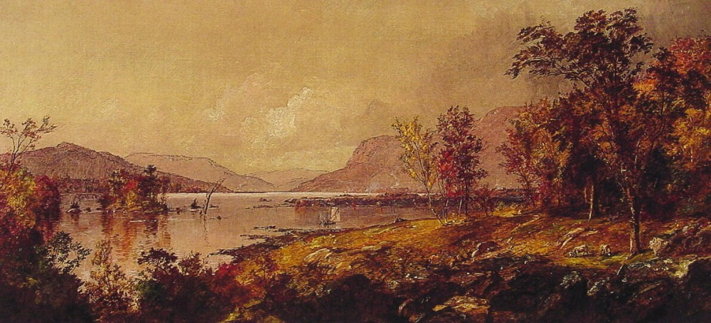 Greenwood Lake in September by Jasper Francis Cropsey