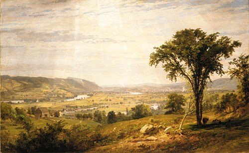 Jasper Francis Wyoming Valley Pennsylvania by Jasper Francis Cropsey