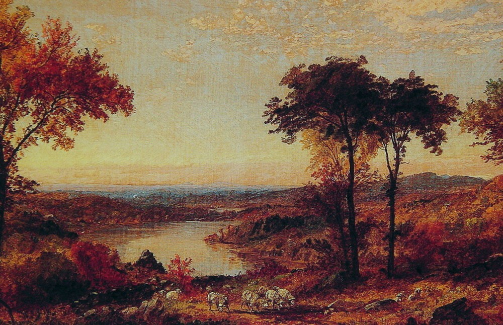 Wyoming Valley Pennsylvania by Jasper Francis Cropsey