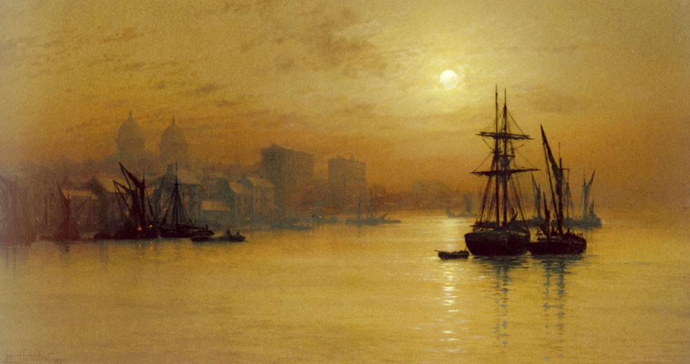 Greenwich by John Atkinson Grimshaw