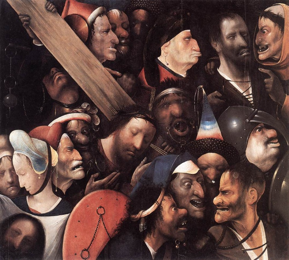 Hieronymus Christ Carrying The Cross by Hieronymus Bosch