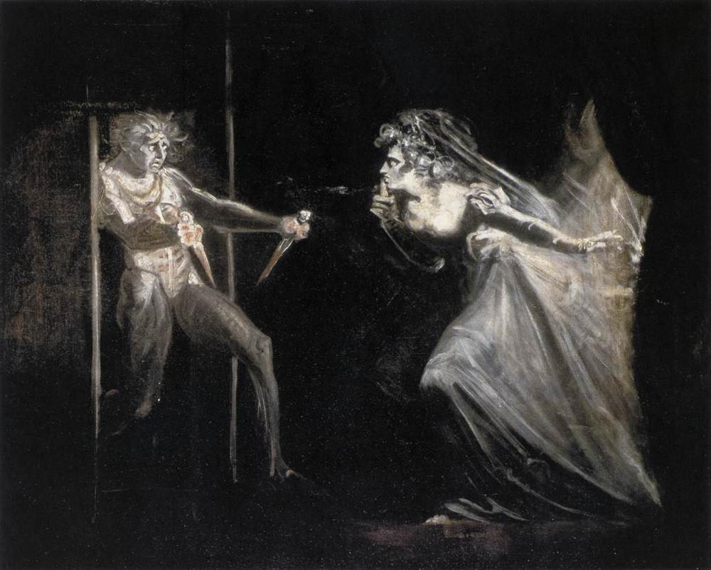 Lady Macbeth With The Daggers by Henry Fuseli