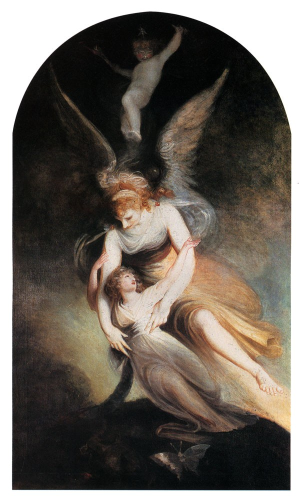 The Apotheosis Of Penelope Boothby by Henry Fuseli