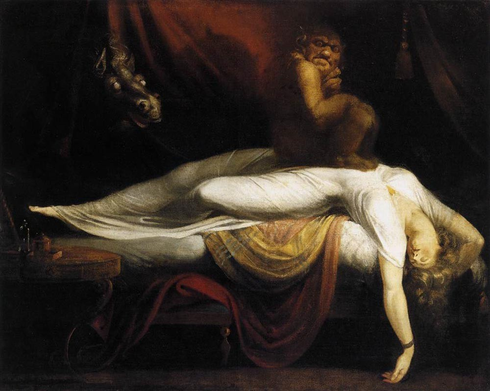 The Nightmare II by Henry Fuseli
