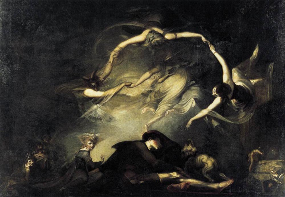 The Shepherds Dream by Henry Fuseli